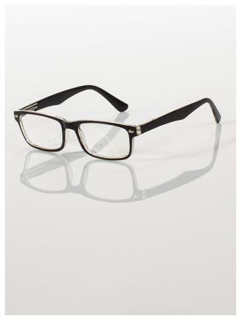 Okulary korekcyjne +1.5 D ,model WAYFARER do czytania z systemem FLEX na zausznikach +GRATIS PLASTIKOWE ETUI I ŚCIERECZKA Z MIKROFIBRY                                  zdj.                                  1