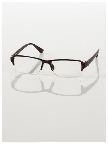Okulary korekcyjne +2.5 D do czytania z systemem FLEX na zausznikach +GRATIS PLASTIKOWE ETUI I ŚCIERECZKA Z MIKROFIBRY                                  zdj.                                  2