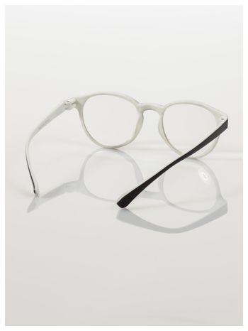 Okulary korekcyjne  +2.5 D dwukolorowe ,do czytania, stylizowane na RAY BAN +GRATIS PLASTIKOWE ETUI I ŚCIERECZKA Z MIKROFIBRY                                  zdj.                                  4