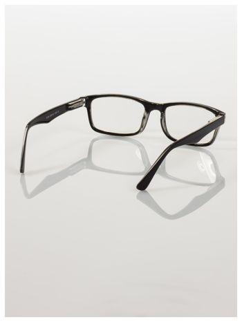 Okulary korekcyjne +3.0 D ,model WAYFARER do czytania z systemem FLEX na zausznikach +GRATIS PLASTIKOWE ETUI I ŚCIERECZKA Z MIKROFIBRY                                  zdj.                                  4