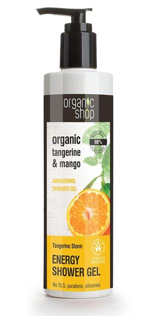 """Organic Shop Żel pod prysznic Energetyczny Mandarynkowa Burza"""""""