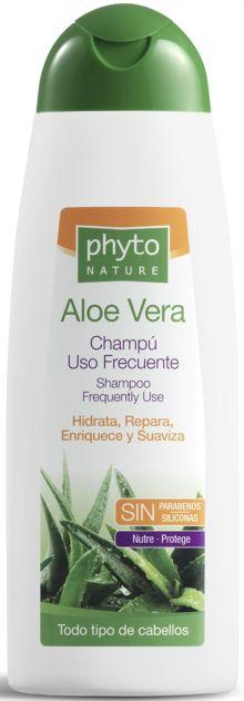 PHYTO NATURE Naturalny aloesowy szampon do częstego stosowania 400 ml                              zdj.                              1