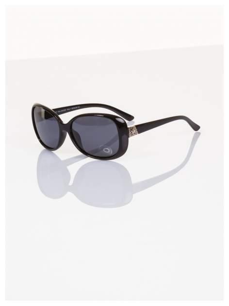 POLARYZACJA Klasyczne damskie okulary przeciwsłoneczne z dodatkową powłoką polaryzacyjną +GRATISY