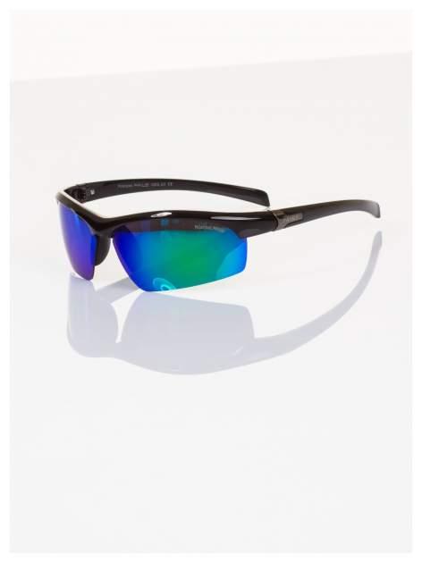 POLARYZACJA okulary sportowe męskie z lustrzanymi szkłami na rower i nie tylko!+GRATISY                                  zdj.                                  2