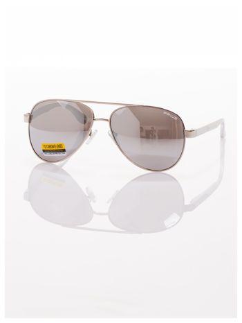 POLYCARBON PRIUS- Pilotki odporne na zarysowania ,unisex okulary przeciwsłoneczne z systemem FLEX na zausznikach                                  zdj.                                  4