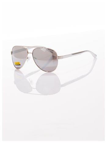 POLYCARBON PRIUS- Pilotki odporne na zarysowania ,unisex okulary przeciwsłoneczne z systemem FLEX na zausznikach