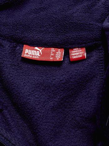 PUMA Granatowa bluza męska z suwakiem                                  zdj.                                  4