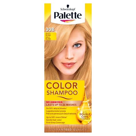 """Palette Color Shampoo Szampon koloryzujący  nr 308 Złoty Blond  1op."""""""