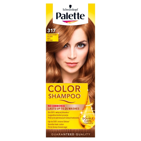 "Palette Color Shampoo Szampon koloryzujący  nr 317 Orzechowy Blond  1op."""