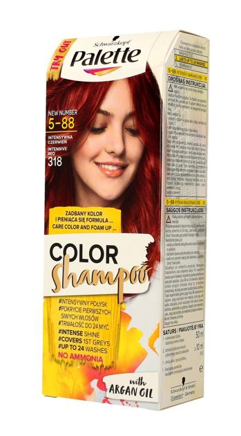 """Palette Color Shampoo Szampon koloryzujący  nr 5-88 Intensywna Czerwień  1op."""""""