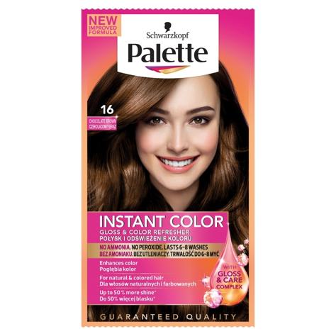 """Palette Instant Color Szamponetka koloryzująca Czekoladowy Brąz nr 16  1szt"""""""
