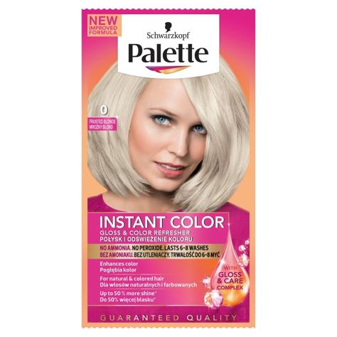 """Palette Instant Color Szamponetka koloryzująca Mroźny Blond nr 0  1szt"""""""