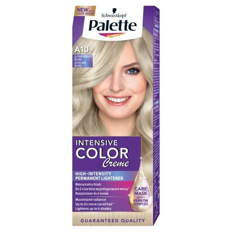 "Palette Intensive Color Creme Krem koloryzujący nr 10-2 popielaty blond  1op."""