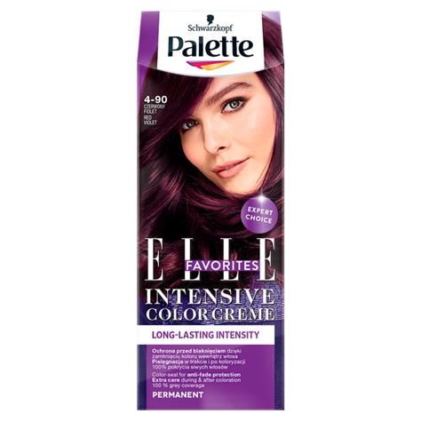 "Palette Intensive Color Creme Krem koloryzujący nr 4-90 Czerwony Fiolet  1op."""