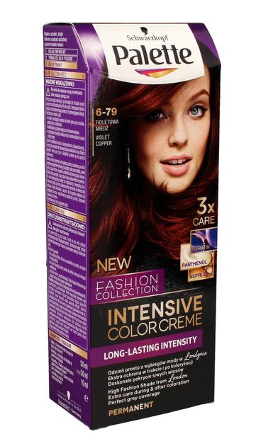 "Palette Intensive Color Creme Krem koloryzujący nr 6-79 fioletowa miedź  1op."""