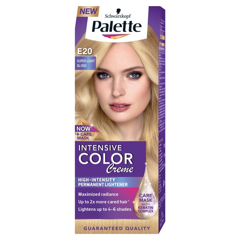 "Palette Intensive Color Creme Krem koloryzujący nr E20-superjasny blond  1op."""