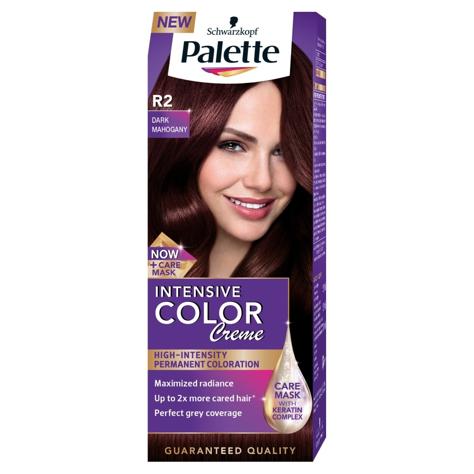 "Palette Intensive Color Creme Krem koloryzujący nr R2-ciemny mahoń  1op."""