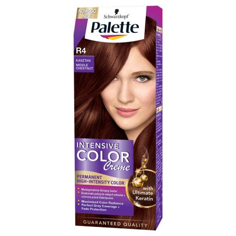 "Palette Intensive Color Creme Krem koloryzujący nr R4-kasztan  1op."""