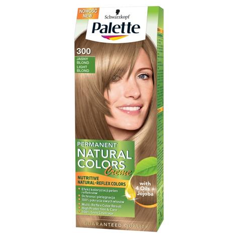 "Palette Permanent Natural Colors Jasny Blond nr 300  1op."""