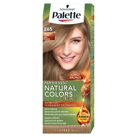 """Palette Permanent Natural Colors Popielaty Blond nr 265  1op."""""""