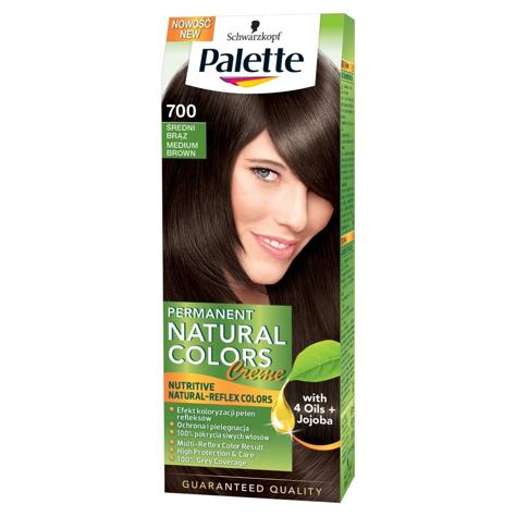 """Palette Permanent Natural Colors Średni Brąz nr 700  1op."""""""