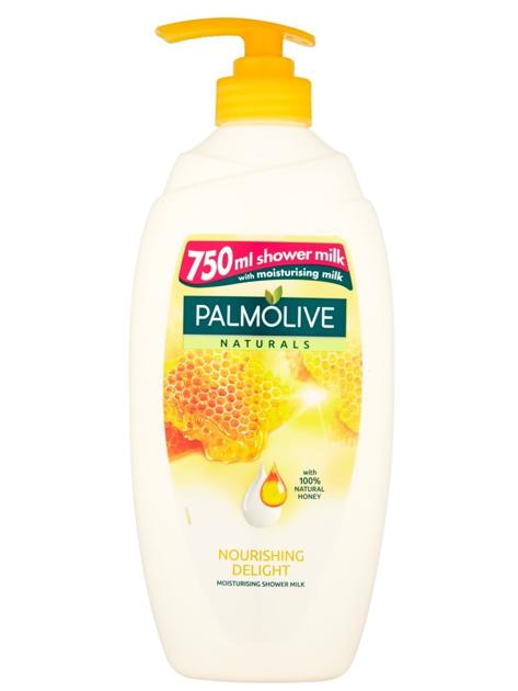 Palmolive Naturals Żel pod prysznic z dozownikiem Mleko i Miód 750 ml