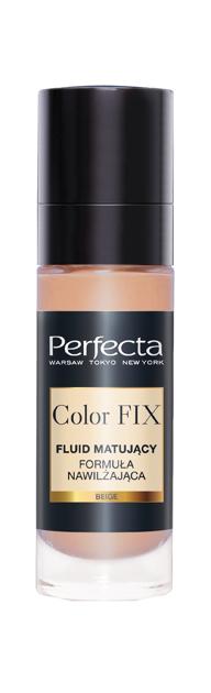 """Perfecta Color FIX Fluid matujący do twarzy-formuła nawilżająca Beige  30ml"""""""