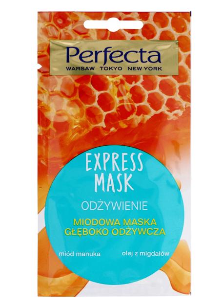 Perfecta Express Mask Miodowa Maska głęboko odżywcza 8 ml