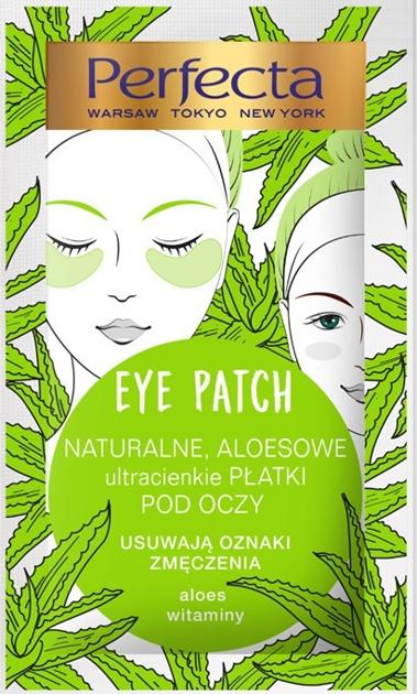 """Perfecta Eye Patch Naturalne Aloesowe Płatki pod oczy  1op.-2szt"""""""