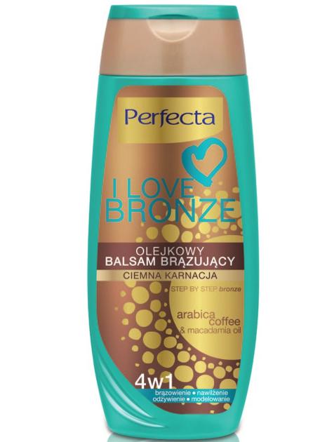 Perfecta I Love Bronze Balsam brązujący olejkowy 4w1 ciemna karnacja 250ml