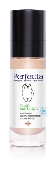 "Perfecta Make-Up Fluid matujący Nude 30ml"""