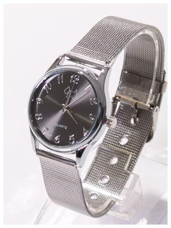 Piękny damski zegarek z PIESKIEM na bransolecie typu Mesh                                  zdj.                                  2
