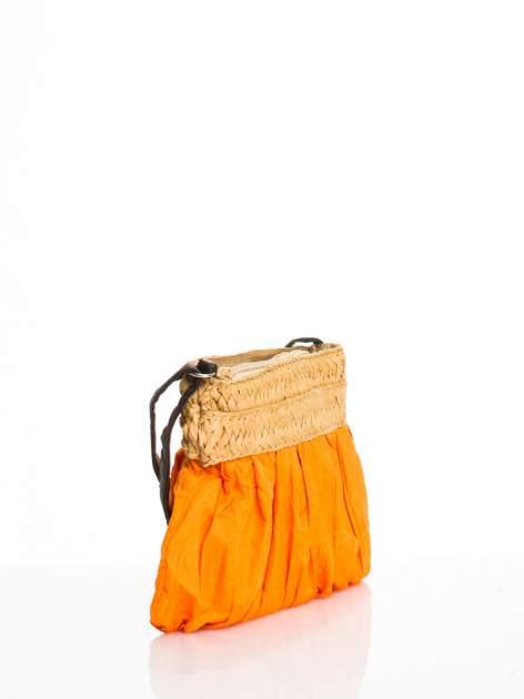 Pomarańczowa listonoszka ze słomkową górą                                  zdj.                                  2
