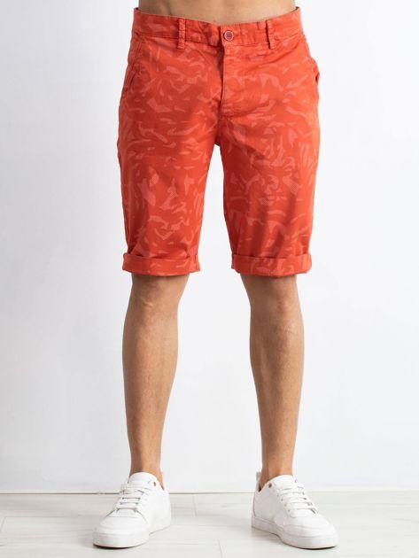 Pomarańczowe szorty Magnetic