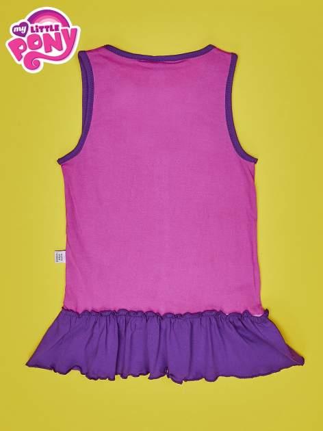 Purpurowa tunika dla dziewczynki MY LITTLE PONY                                  zdj.                                  2