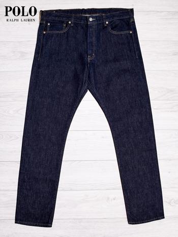 RALPH LAUREN Ciemnoniebieskie spodnie jeansowe męskie                                  zdj.                                  1