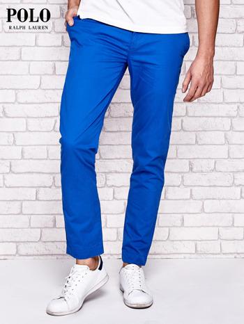 RALPH LAUREN Niebieskie spodnie męskie                              zdj.                              1