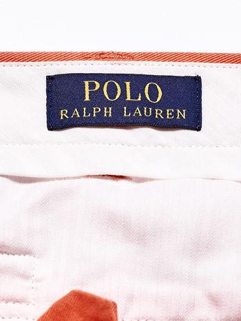 RALPH LAUREN Pomarańczowe spodnie męskie                                  zdj.                                  4