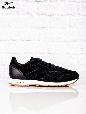 REEBOK Czarne buty sportowe męskie CL LEATHER SG                              zdj.                              1