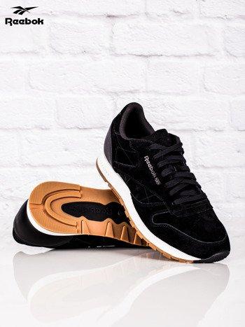 REEBOK Czarne buty sportowe męskie CL LEATHER SG                              zdj.                              4