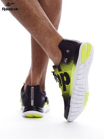 REEBOK ZPUMP FUSION Czarno-żółte buty męskie sportowe z nadrukiem                              zdj.                              7