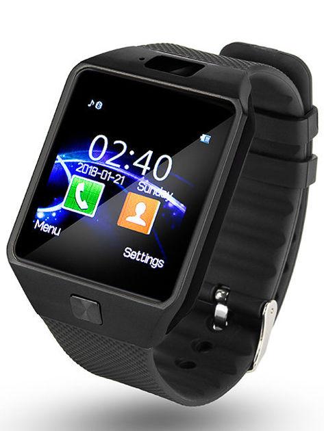 RONEBERG Smartwatch R09 Współpracuje z Android oraz iOS Powiadomienia Połączenia Krokomierz Monitor snu Czarny                              zdj.                              1