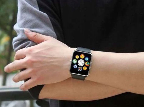 RONEBERG Smartwatch RG08 Współpracuje z Android oraz iOS Powiadomienia Połączenia Krokomierz Monitor snu Czarny                              zdj.                              6
