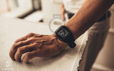 RONEBERG Smartwatch RM26 Współpracuje z Android oraz iOS Powiadomienia Połączenia Krokomierz Monitor snu Czarny                              zdj.                              8