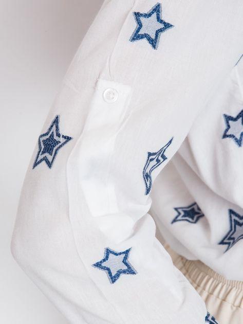 RUE PARIS Biała koszula Starlight                              zdj.                              6