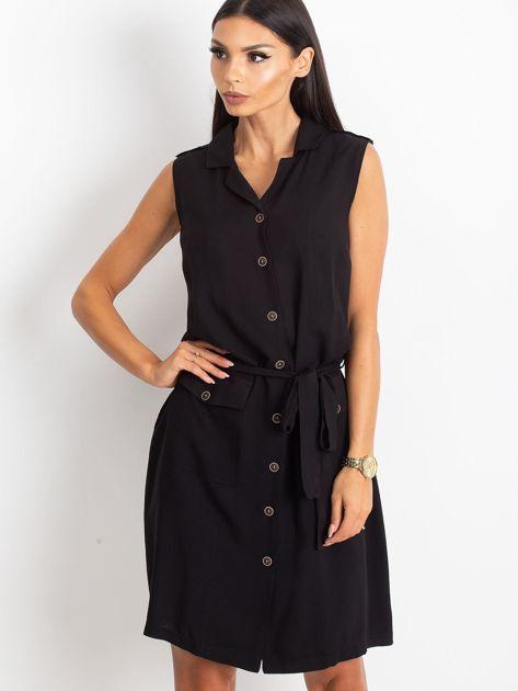 RUE PARIS Czarna sukienka Hive                              zdj.                              5