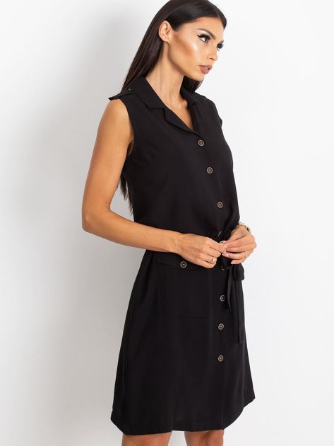 RUE PARIS Czarna sukienka Hive                              zdj.                              3