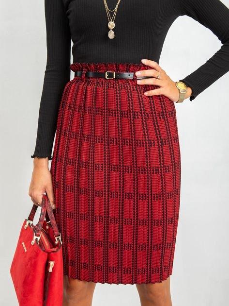 RUE PARIS Czerwono-czarna spódnica Diaz                              zdj.                              1