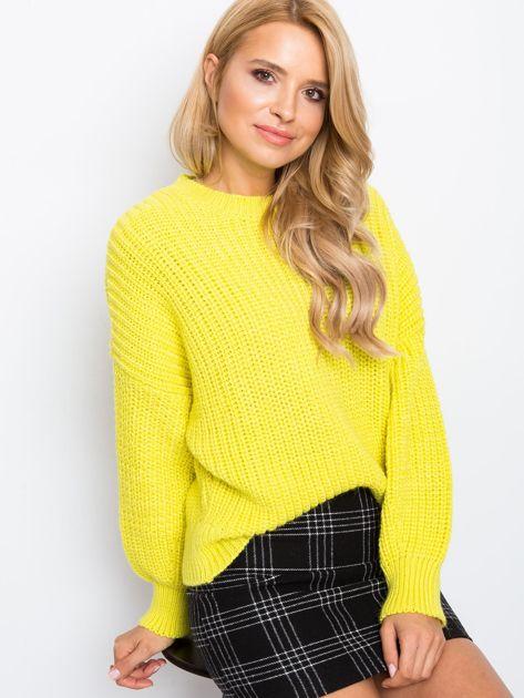 RUE PARIS Żółty sweter Zoe                              zdj.                              5