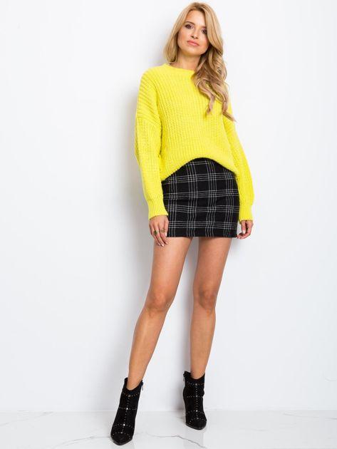 RUE PARIS Żółty sweter Zoe                              zdj.                              4